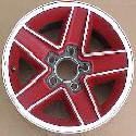 87-92 Camaro RS wheels in red